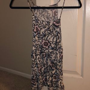 Floral Patterned Tank Top